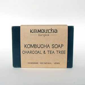 front kombucha soap charcoal and tea tree