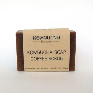 front kombucha soap coffee scrub