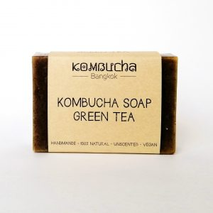 front kombucha soap green tea