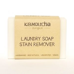 front of natural laundry soap stain remover
