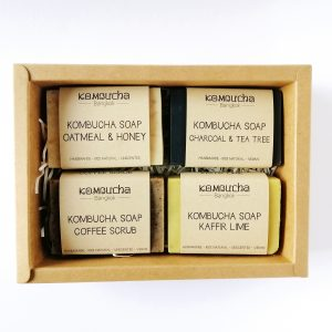 create gift set kombucha bangkok kraft box